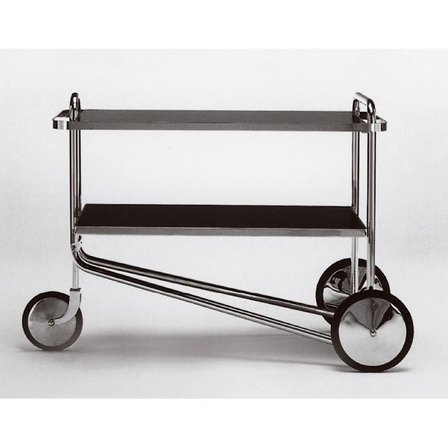 Breuer Tea Trolley  Designed 1929