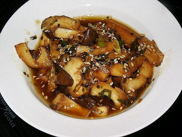 Little Corner of Mine: Stir-Fried King Oyster Mushroom