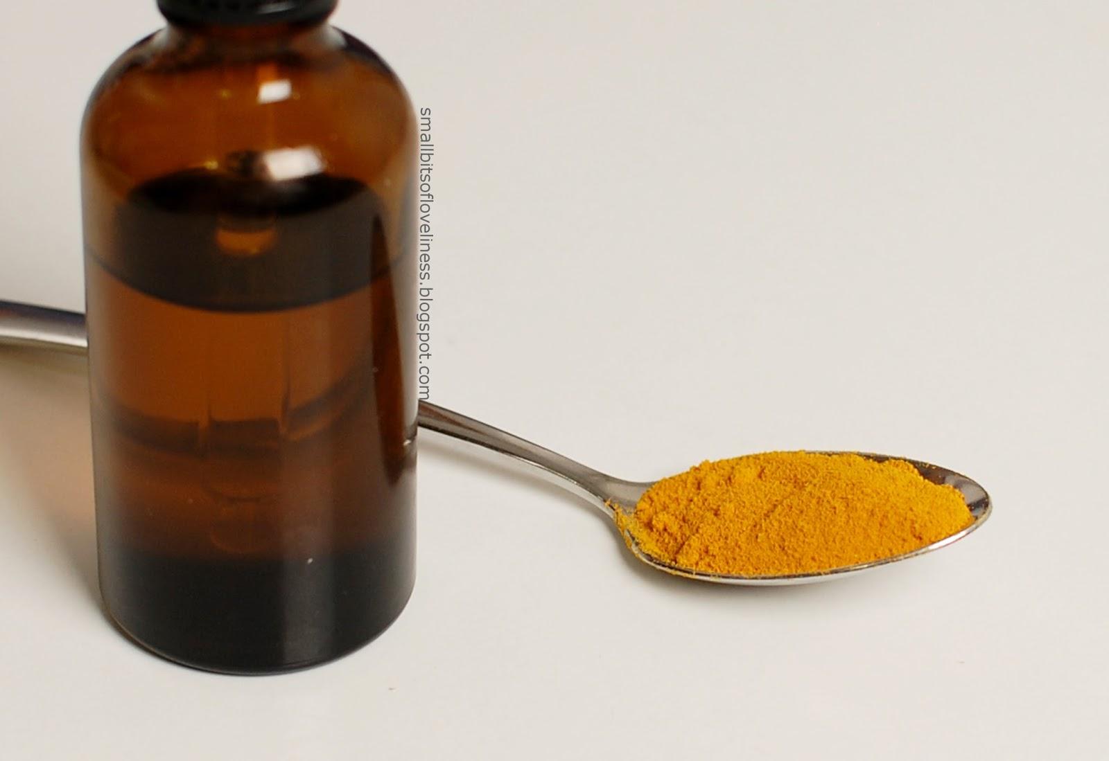 Arganovo olje s kurkumo