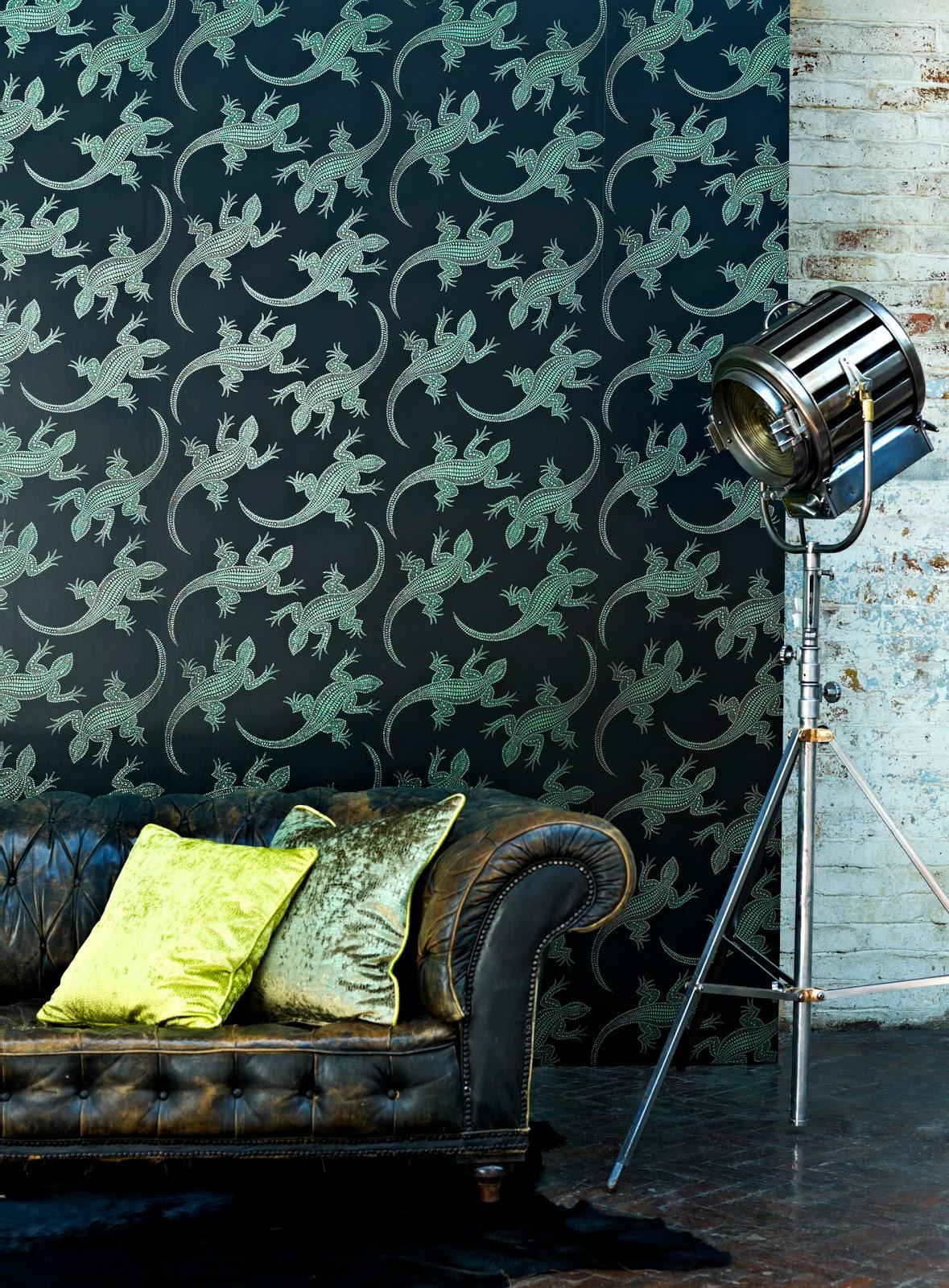 papeles pintados aribau osborne little komodo paradiso. Black Bedroom Furniture Sets. Home Design Ideas