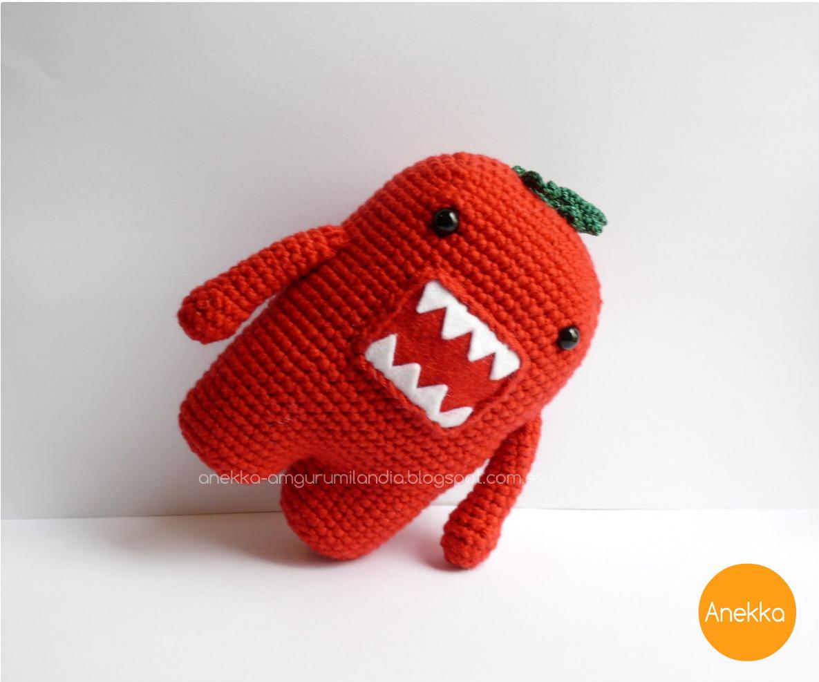 Domokun crochet doll anekka