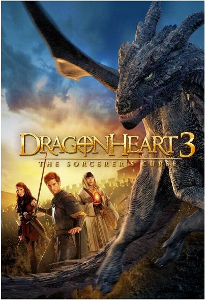 Dragonheart 3: The Sorcerer's Curse (2015) Poster
