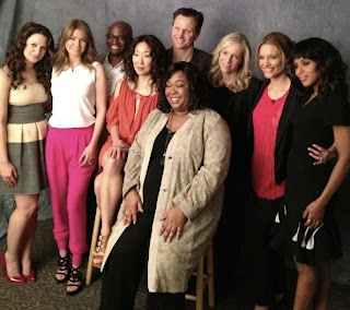Sandra Oh Ellen Pompeo 'An Evening With Shonda Rhimes & Friends'