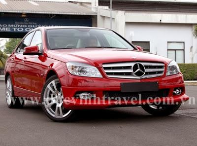 Cho thuê xe Mercedes C200 VIP 1
