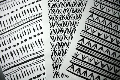 ancient patterns by bookbinder Katie Gonzalez