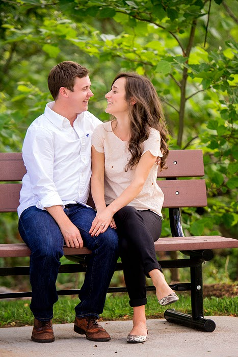 Main Street Front Royal Engagement Photography