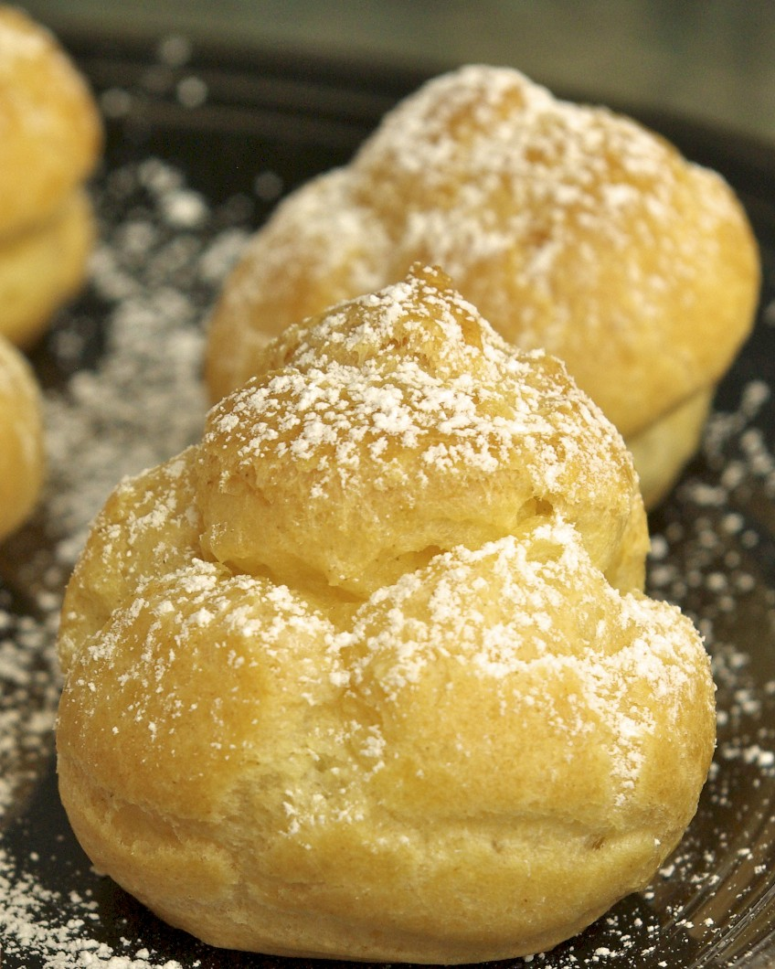 Perfect Cream Puffs | Paula's Plate