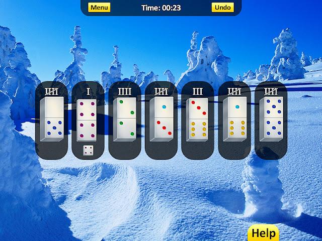 لعبة الدومينو سوليتير Domino Solitaire