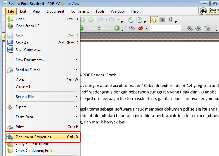 how to change open with viewer to pdf