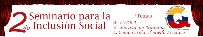 2do Seminario para la inclusion Social