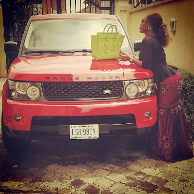 Daniella Okeke shows off her Red Range Sport & Designer bags2