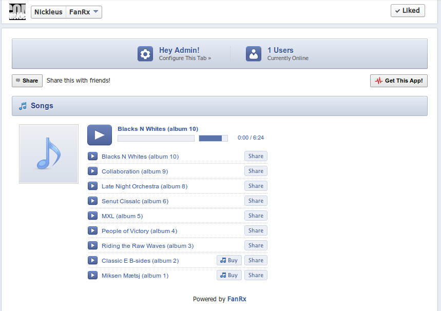 how to add soundcloud to facebook page