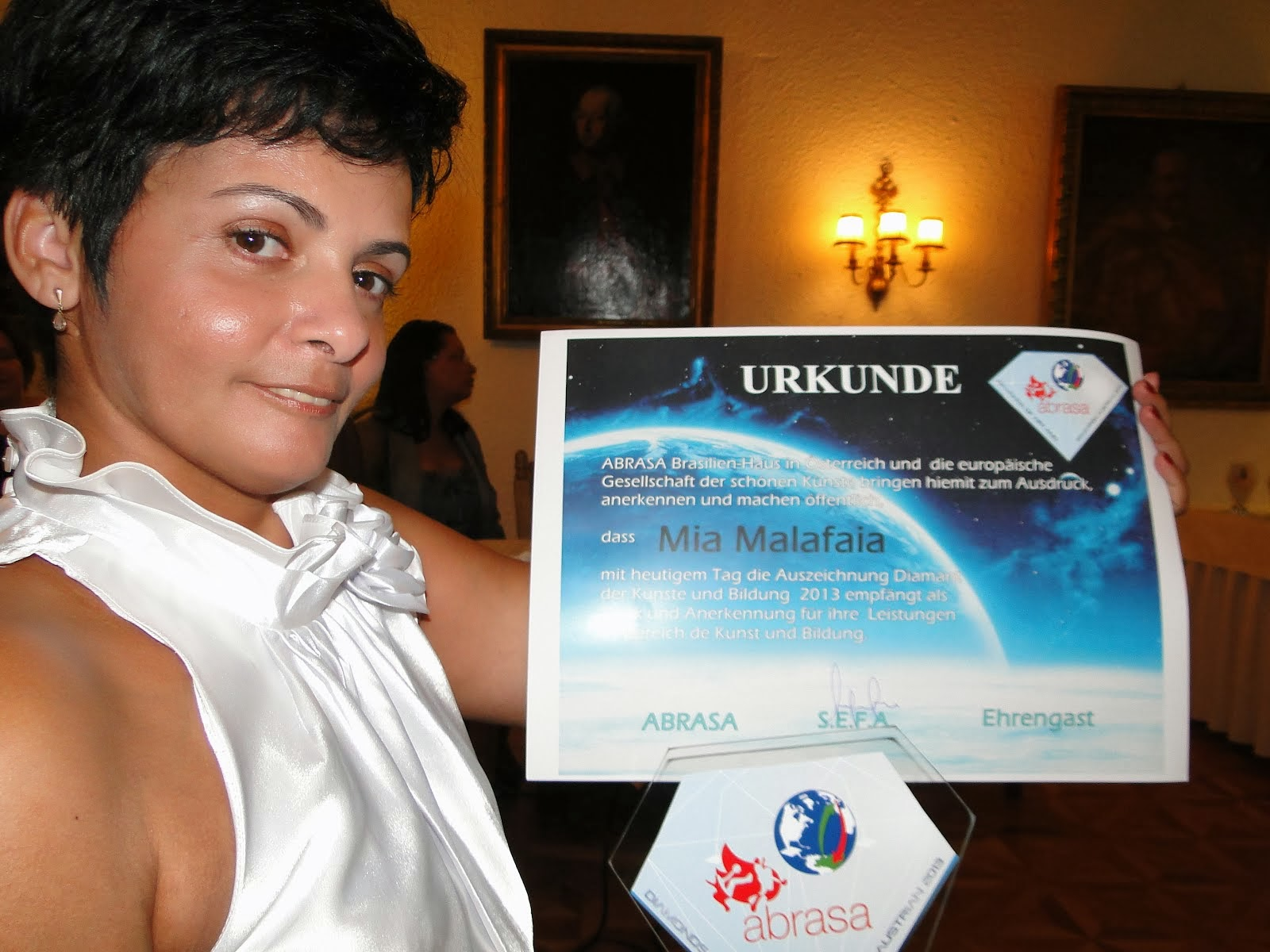 Prêmio Internacional.