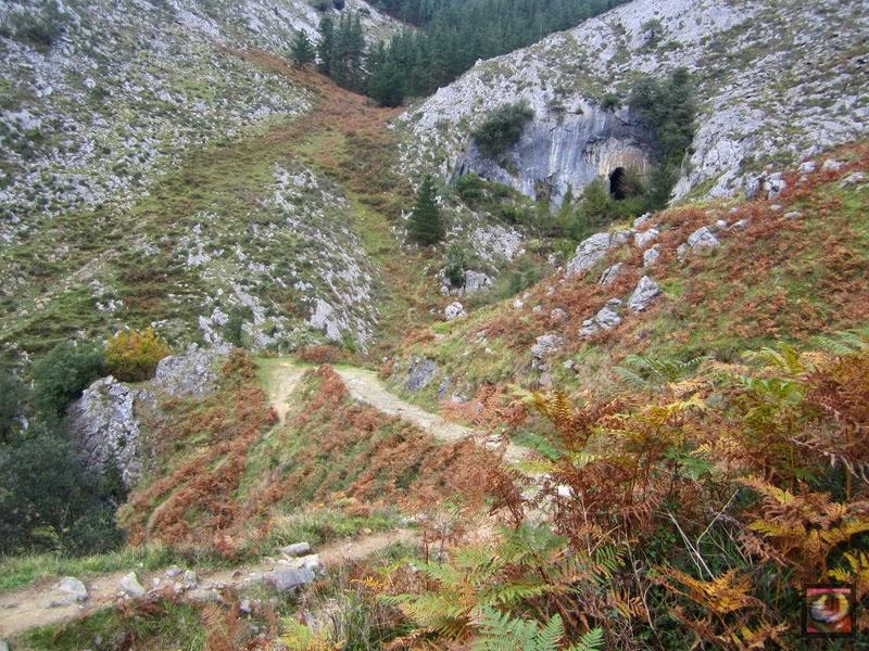 Cuevas de Baltzola en Dima (Bizkaia)