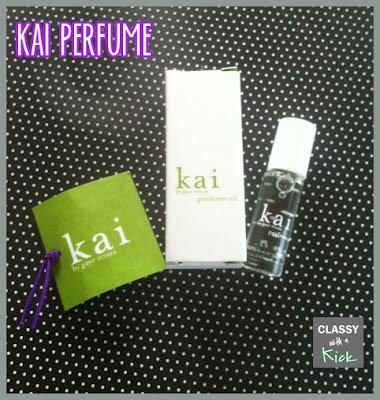 Classy with a Kick: Kai Perfume