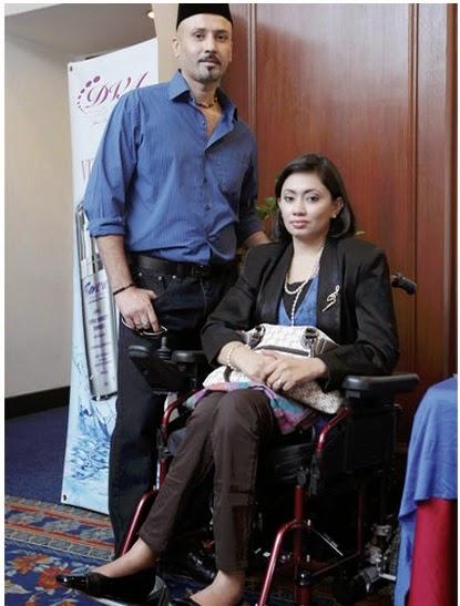 Edika Yusof Nazar Botak Selagi Isteri Belum Sembuh