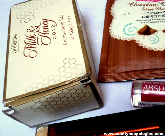 oriflame milk and honey soap