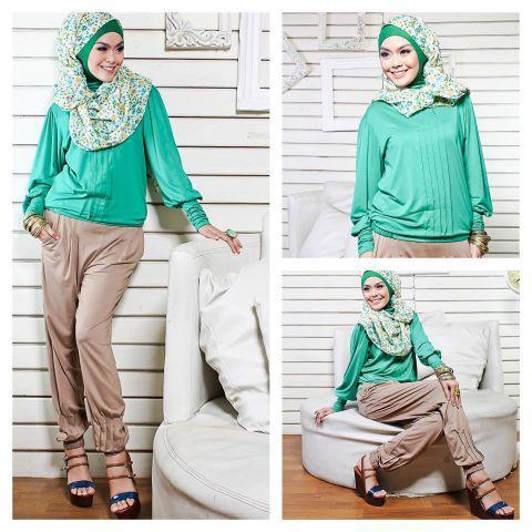 tutorial hijab modern: pakaian modis bagi hijaber