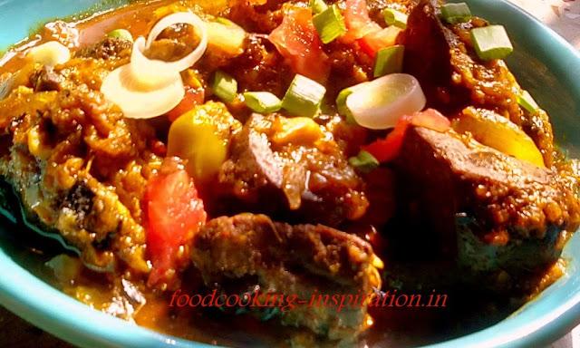 Mete Chorchori - Liver Dish in Bengali style