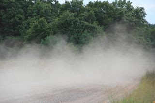 photo of Summer road dust