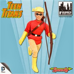 Figures Toy Company Retro/Mego Style Teen Titans - Speedy