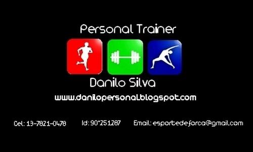 Danilo Silva - Personal Trainer - Saúde e Qualidade de Vida