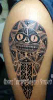 Mauri Tattoo Designs,Warrior Tattoo Designs,Shoulder Tribal Tattoo Design