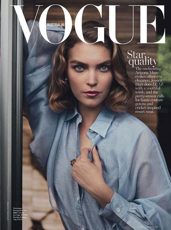 Vogue Australia december 2013 cover