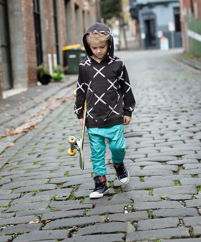 Australian kidswear brand Bandit Kids SS14/15 'X Marks the Spot'