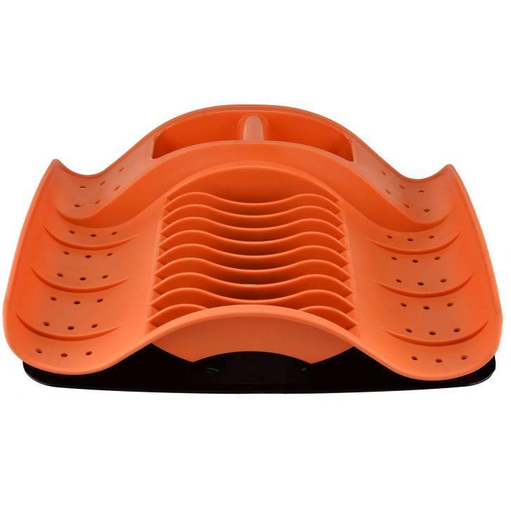OX-976 Oxone Rak Piring Plastik - Orange