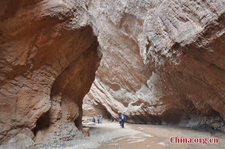 El Gran Cañón de la montaña Tianshan