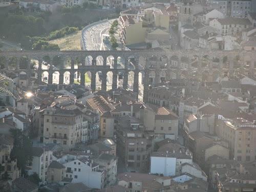 vuelo en globo Segovia