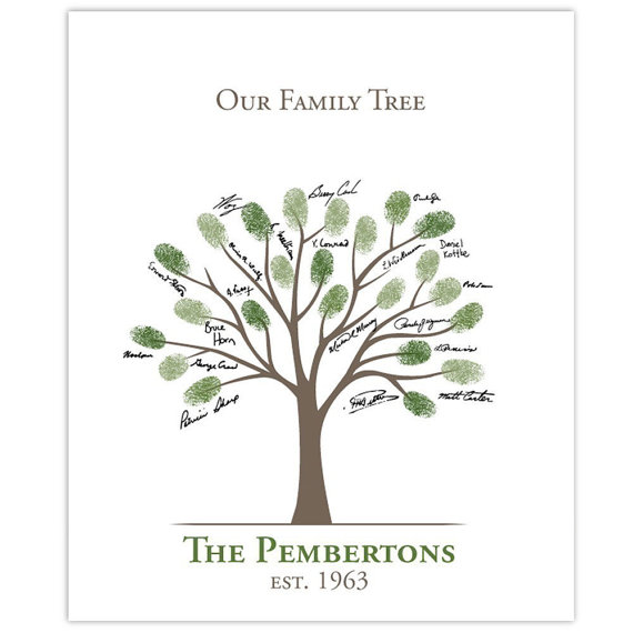 Family tree template family tree thumbprint template wrote all of the names with a gray sharpie because it was what i had will be signing in on our thumbprint tree thomas created this tree diy family saigontimesfo