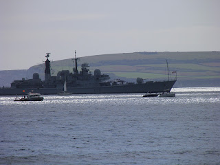 HMS York - Bournemouth Air Fest 2012