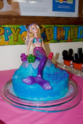 How to do something How to make a mermaid cake