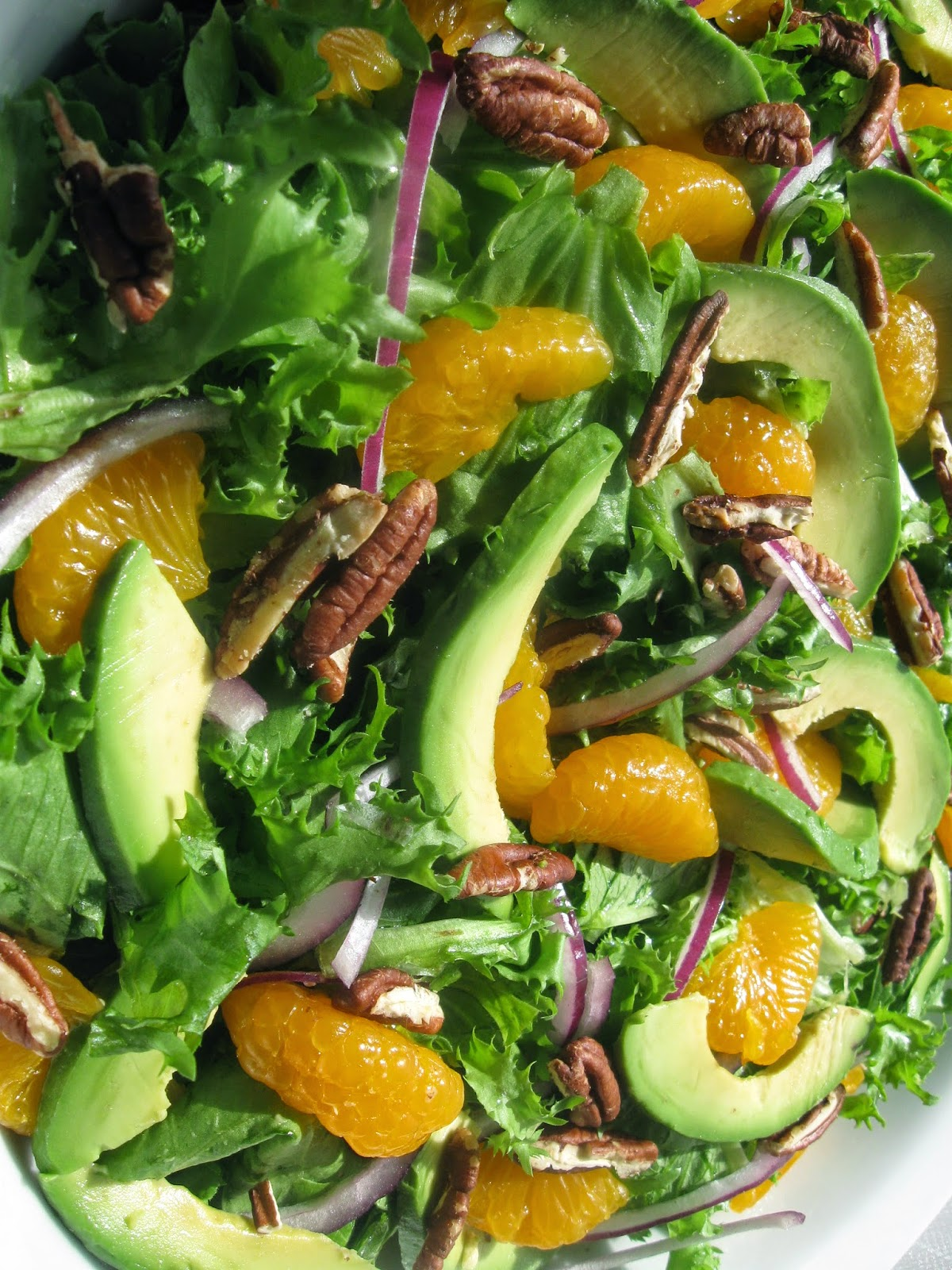 Green Salad with Oranges Pistachios Recipe