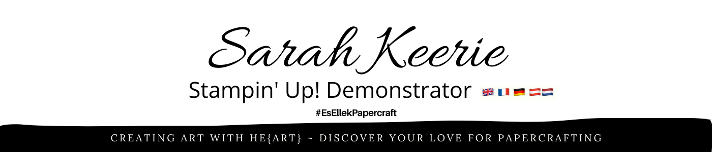 Stampin' Up! UK with Sarah #EsellekPapercraft | Shop Online at www.MyStampOrder.co.uk