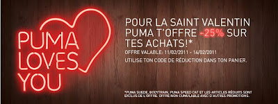 Bon plan Shopping | PUMA Loves You