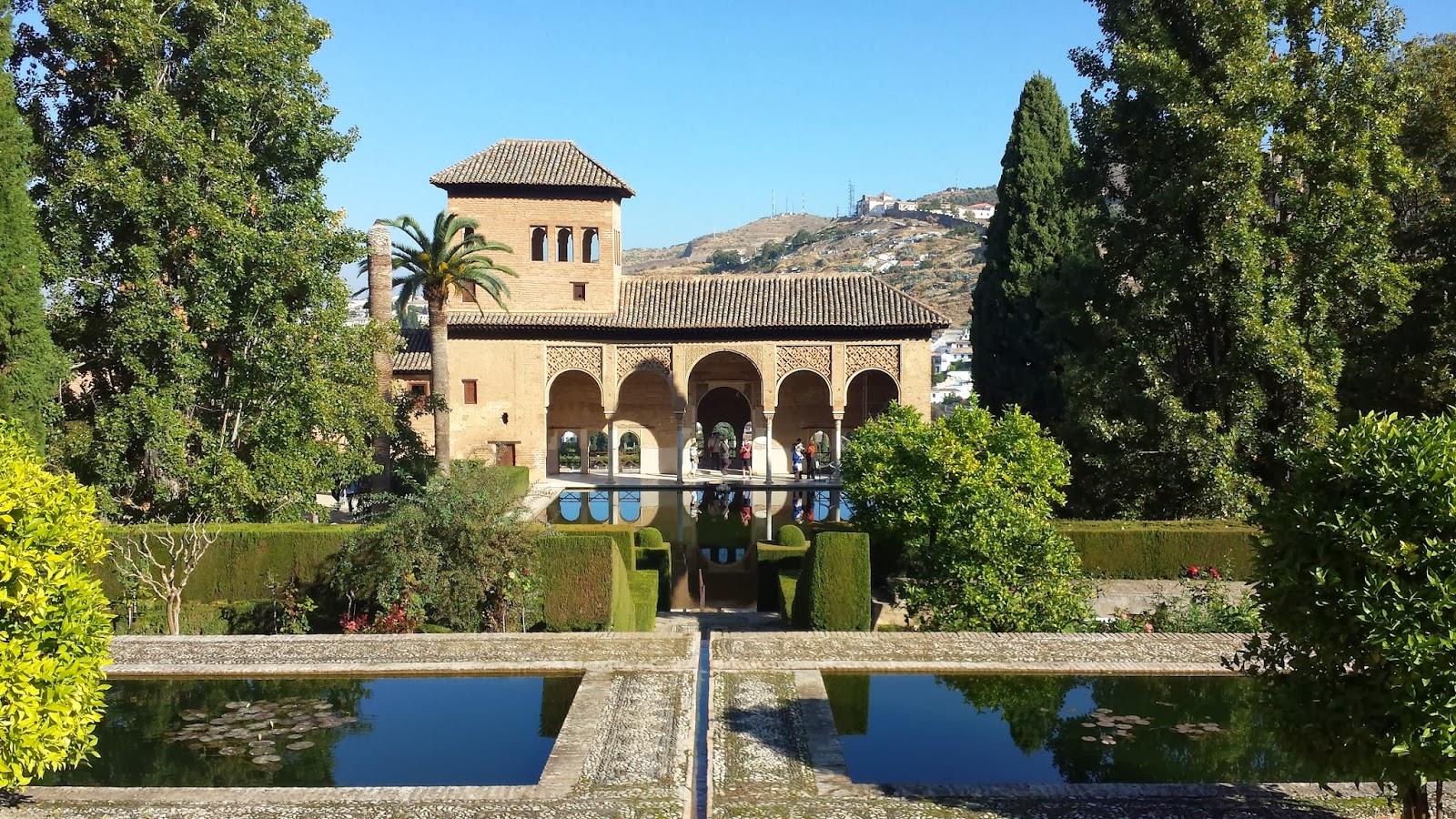el partal y torre de las damas - Jardin De L Alhambra