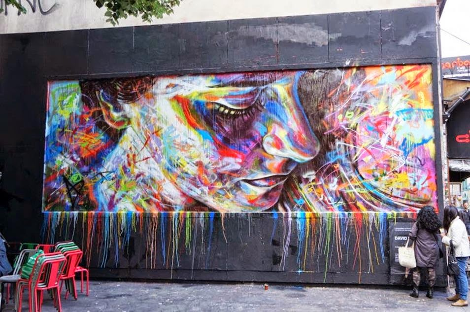 The Best Examples Of Street Art In 2012 And 2013 - David Walker, Paris, France