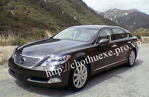 Cho thuê siêu xe Lexus LS 600H tại Đức Vinh Trans