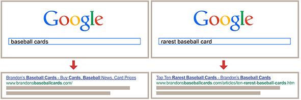 Exemplo do que é título de página e como funciona no resultado de busca do Google