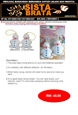 Baby Alert RM 45