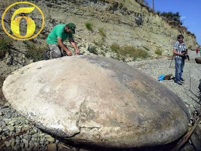 Huge Disc UFO Found In Russia 2015, UFO Sightings