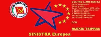 l'Altra Europa con Tsipras - 25/26 MAGGIO 2014 ELEZIONI EUROPEE