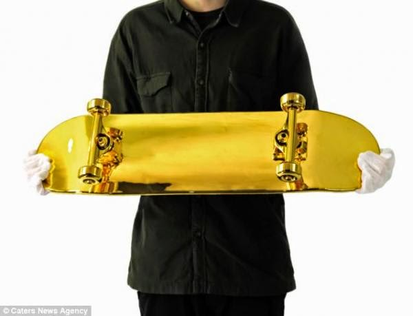 El Skate más caro del mundo