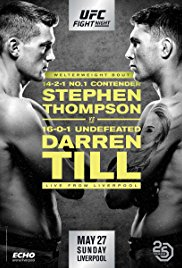 Watch UFC Fight Night: Thompson vs. Till Online Free 2018 Putlocker