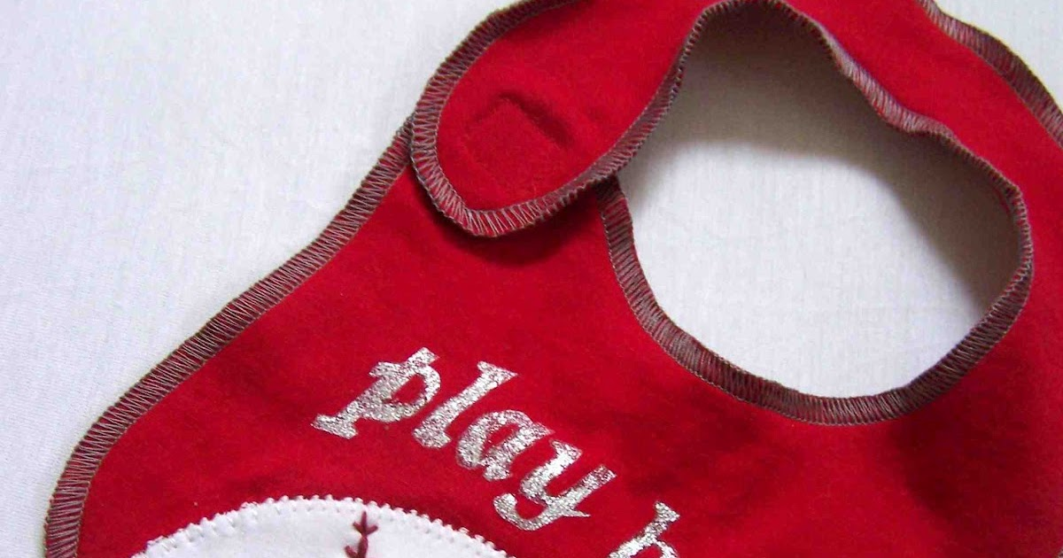 how to make baby dribble bibs