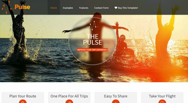 Pulse Free joomla template