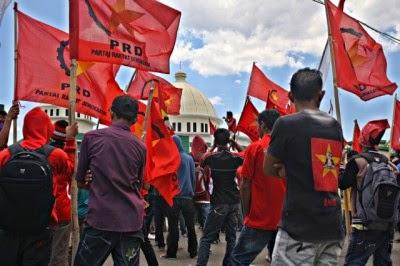 Demo PRD Ricuh, Wakapolres Berdarah
